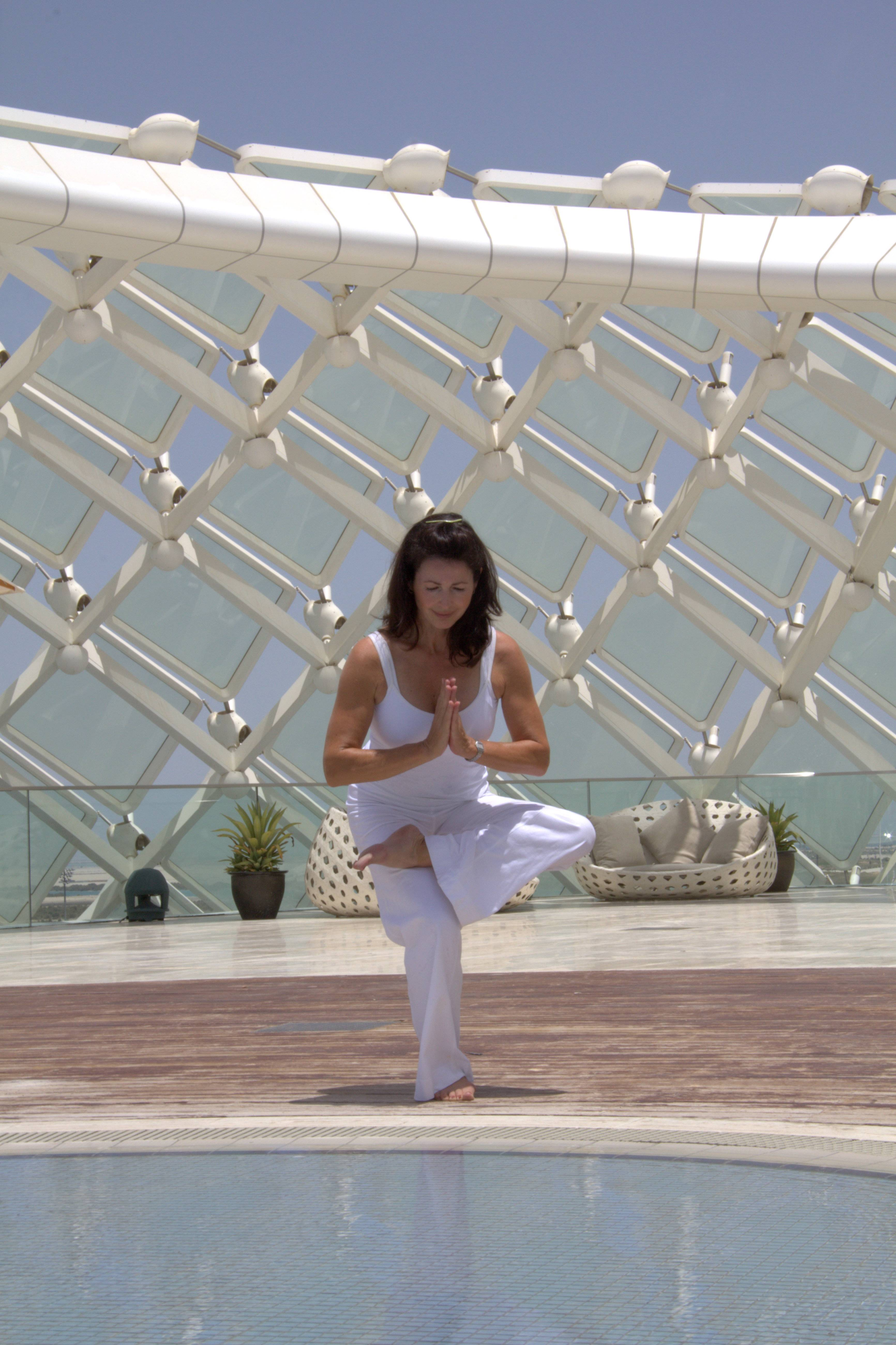 Yoga at The Yas Hotel