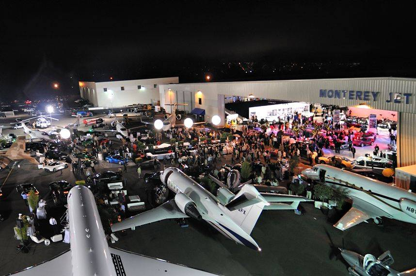 Jet Center Party 2- Credit to McCall Events