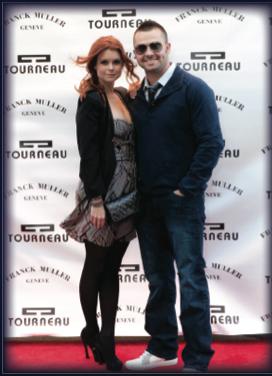 Joanna Garcia and New York Yankee Nick Swisher