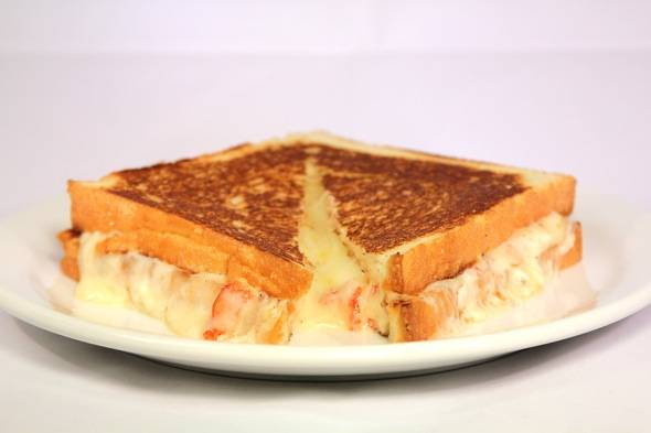 Lobster ME Lobster Grilled Cheese