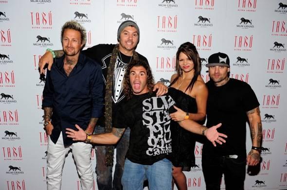 Luke Burrett, SkySkrape, Clay Guida, Kim Couture and Punkass at Tabu Ultra Lounge, Las Vegas 8.22.11
