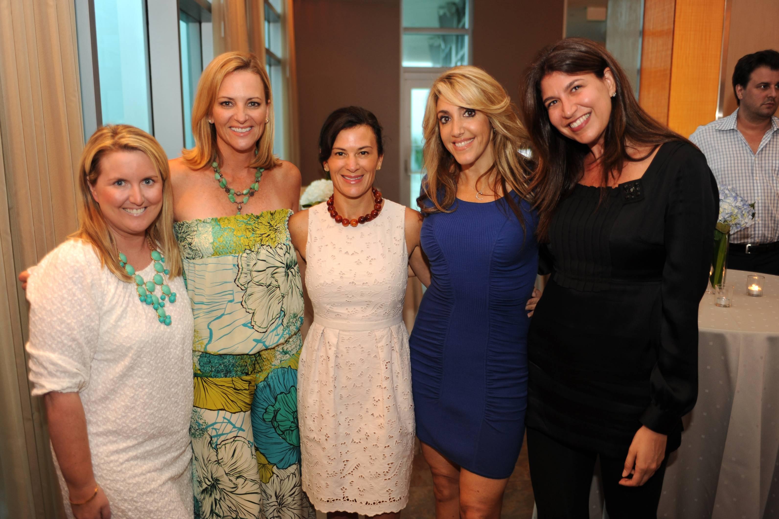 Mary Killeen, Lisa Petrillo, Sarah Harrelson, Jillian Jacobson Altit and Carolyn Travis
