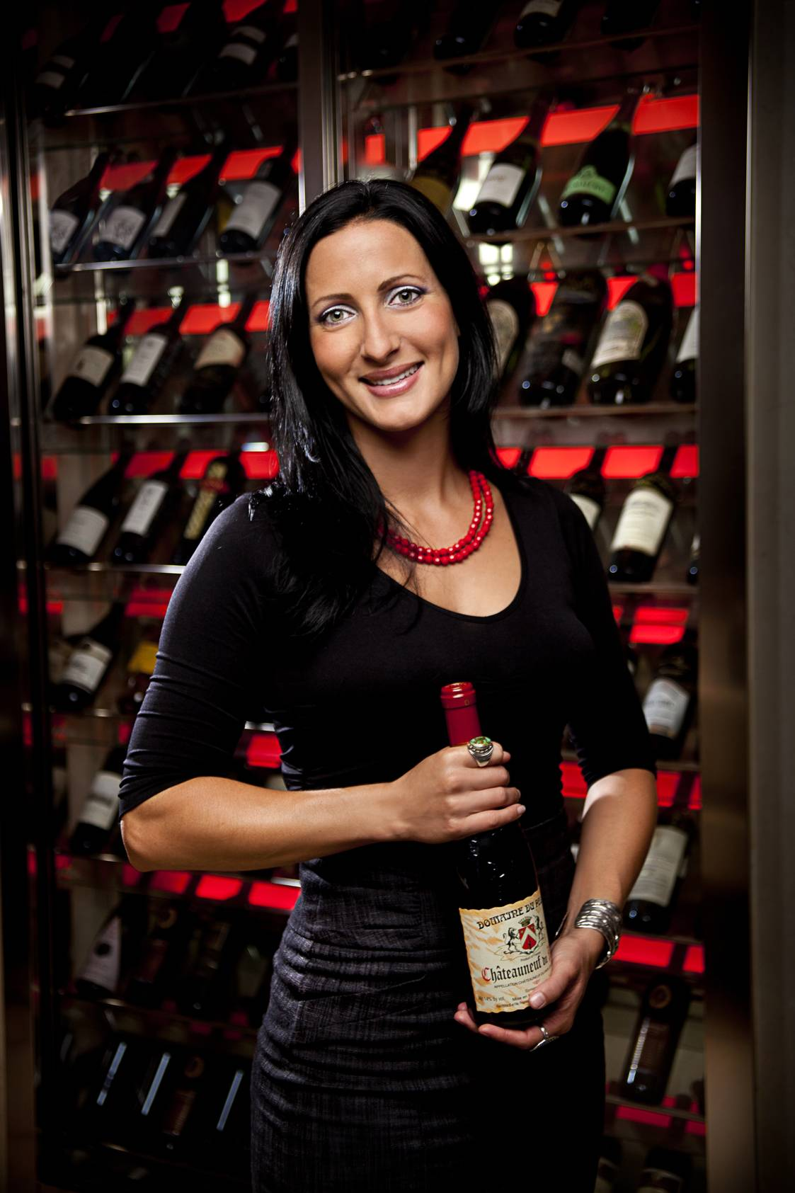 Meat Market Sommelier Sarah Almand Photo Credit Michael Pisarri