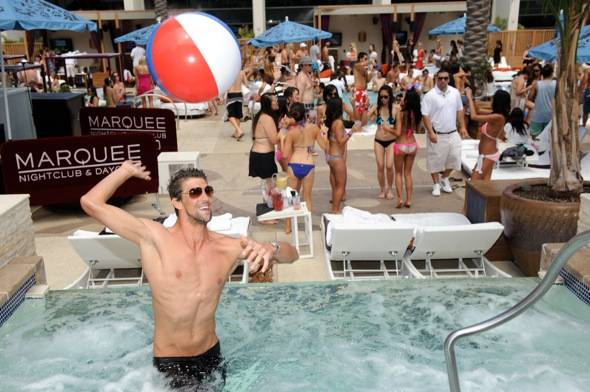 Michael Phelps_Marquee Dayclub 1