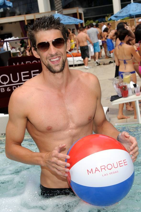 Michael Phelps_Marquee Dayclub 2