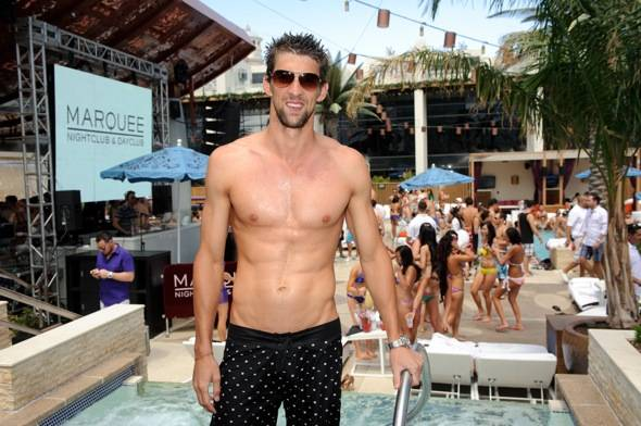 Michael Phelps_Marquee Dayclub 3