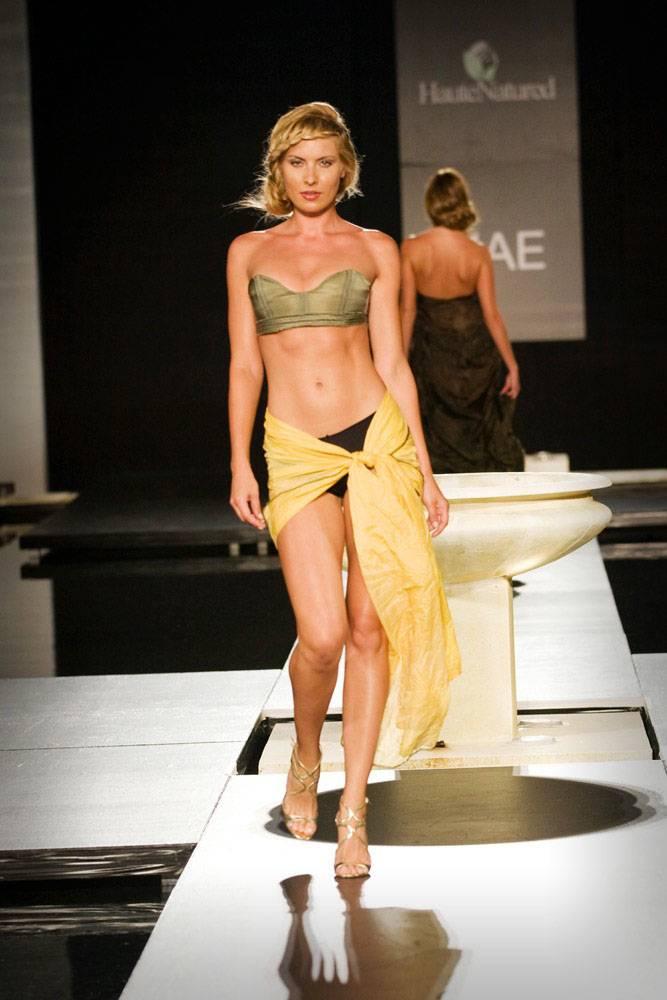 Model in MAE Swimwear