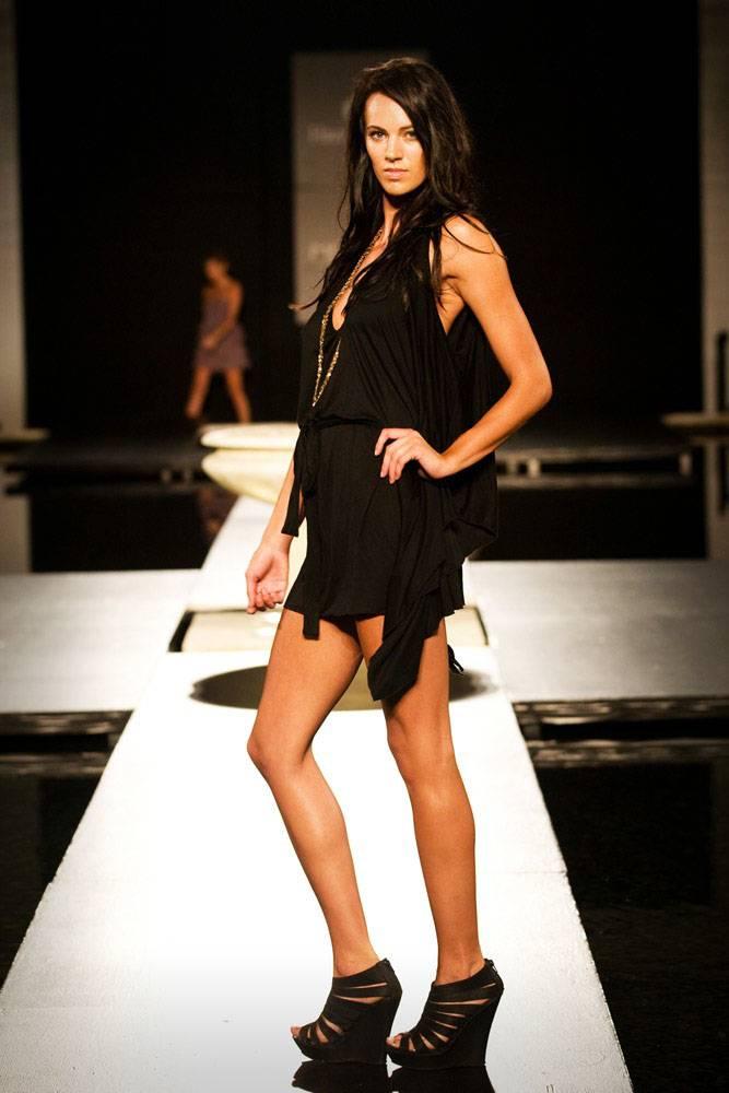 Model in Meadow Swimwear