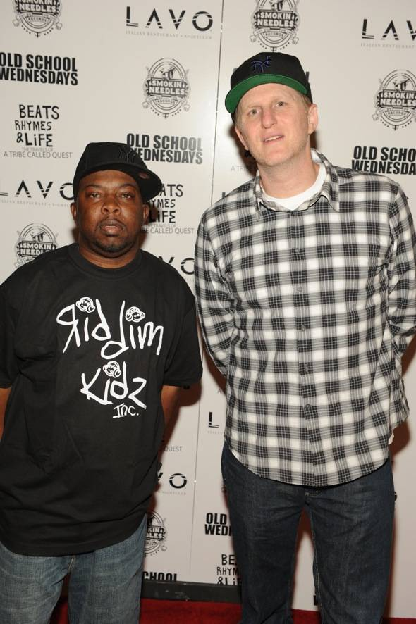 Phife Dawg_Michael Rapaport_LAVO red carpet
