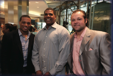 Robinson Cano, Mike Harkey, and Joba Chamberlain