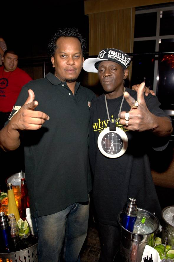 Special Ed and Flava Flav