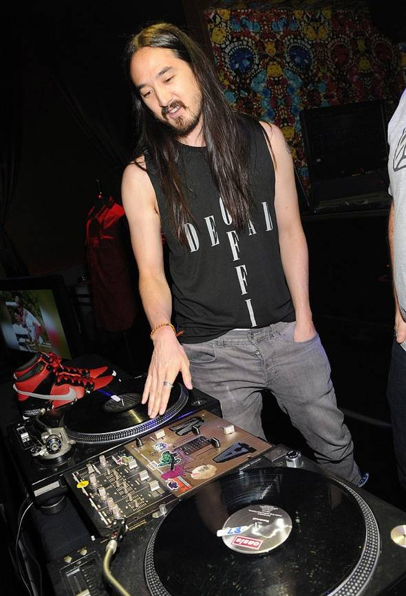 Steve Aoki - credit Scott Harrison
