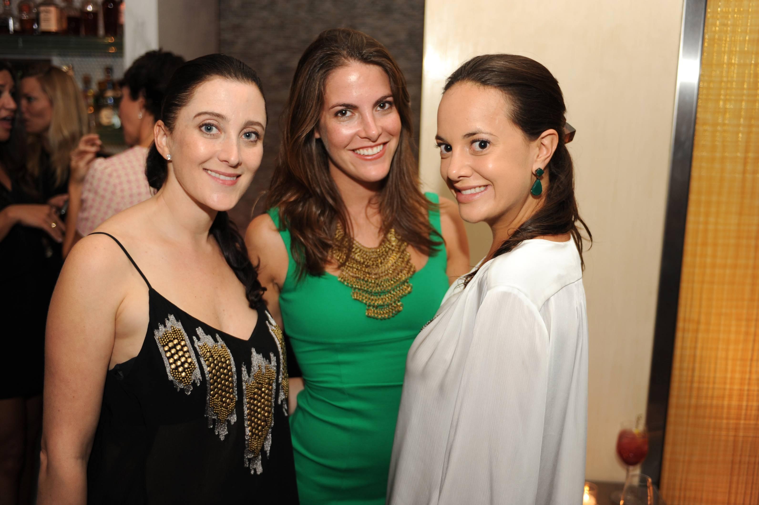 Susanne Birbragher, Ashley Turchin and Erin Newberg