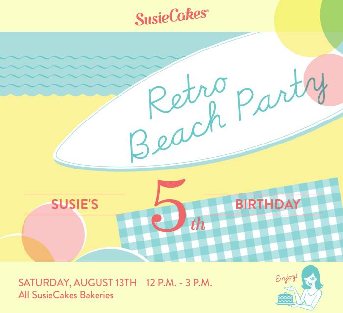SusieCakes' 5th Birthday Party