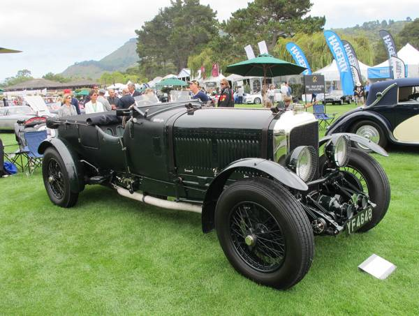 resize1927 Bentley 6.5 Liter at The Quail