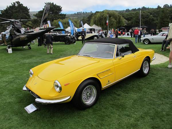resize1967 Ferrari 330 GTS at The Quail