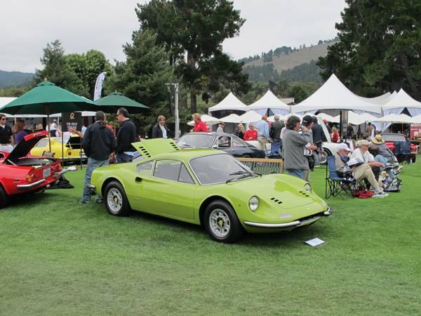 resize1970 Ferrari 246 GT (DINO) at The Quail