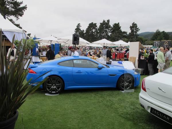 resize2012 Jaguar XKR-S at The Quail 2011