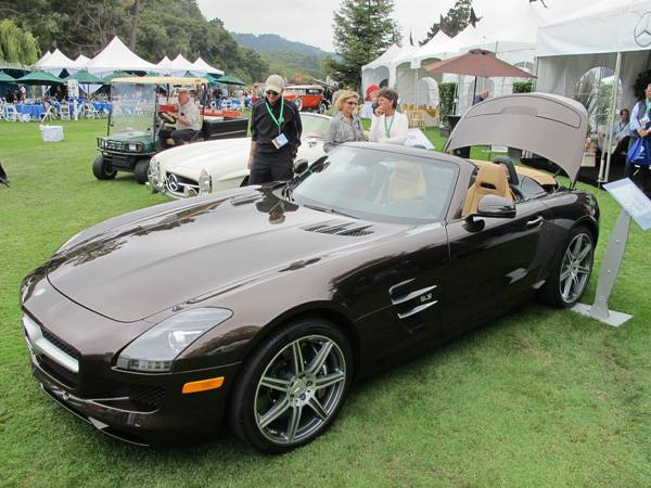 resize2012 Mercedes-Benz SLS AMG Roadster at The Quail
