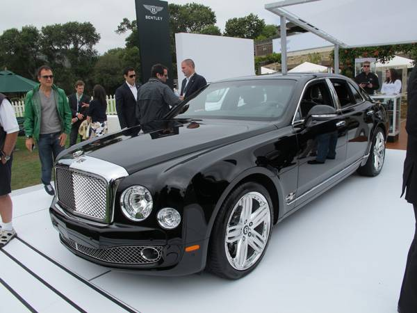resizeBentley Mulsanne at The Quail 2011