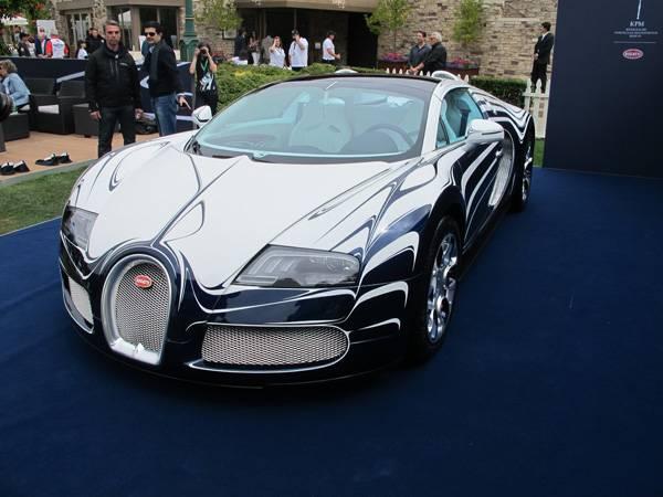 resizeBugatti Veyron at The Quail 2011