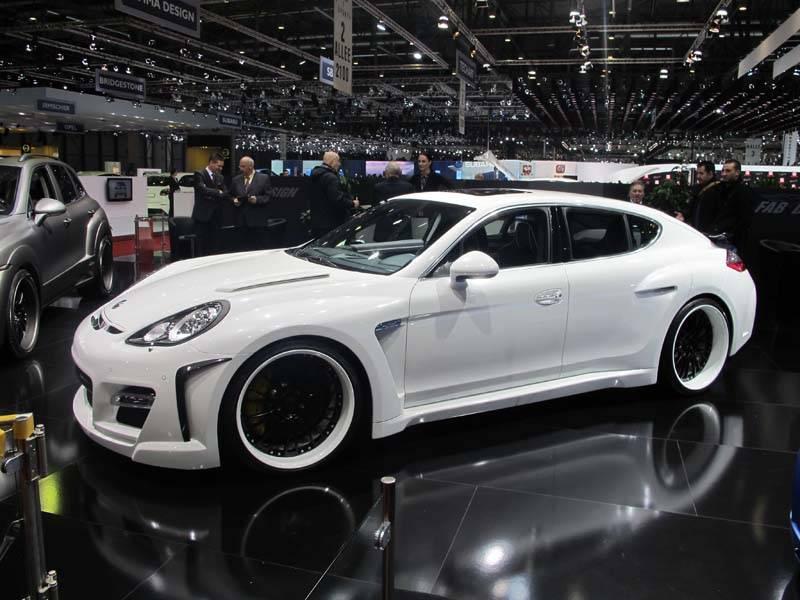 resizeGeneva Auto Show – Custom Porsche Panamera by FAB DESIGN