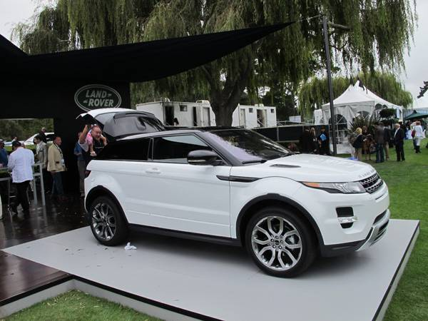 resizeLand Rover Evoque at The Quail 2011