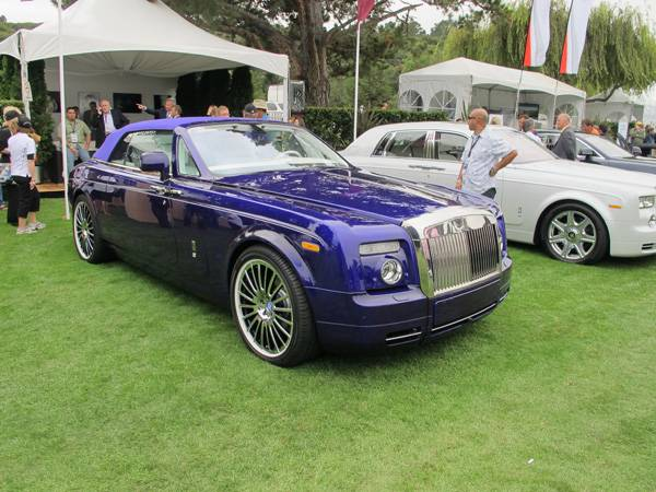 resizeRolls-Royce owner shows off at The Quail 2011