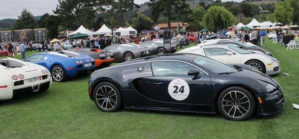 resizeThis Bugatti collection scene at The Quail in Carmel Cali should represent a big enough deposit to bail the government out of its heavy debt
