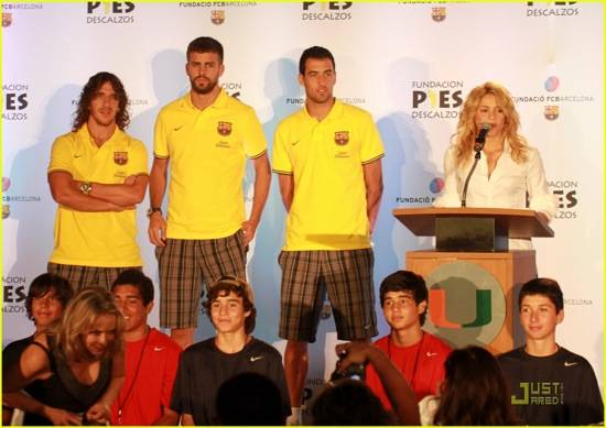 Shakira and Gerard Piqué