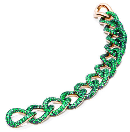 tango emeralds – bracciale
