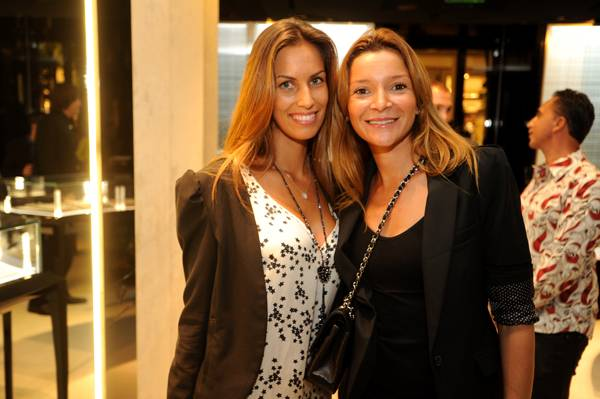 05 Vanessa Coencas and Caroline Nicolai at De Beers Jewellery launch