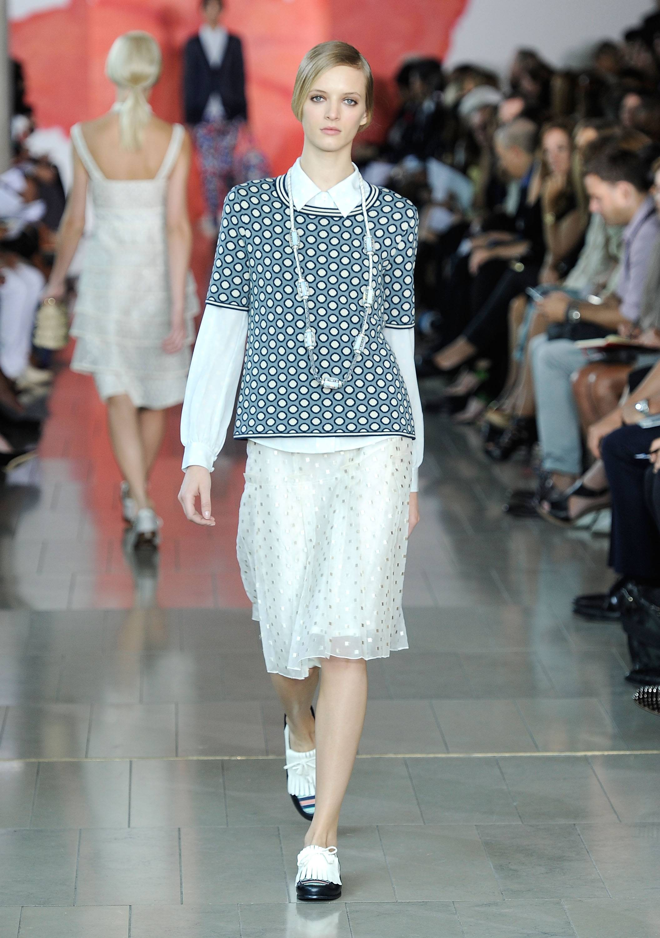 Tory Burch Runway Presentation 12, Mercedes Benz Fashion Week, s/s 2012