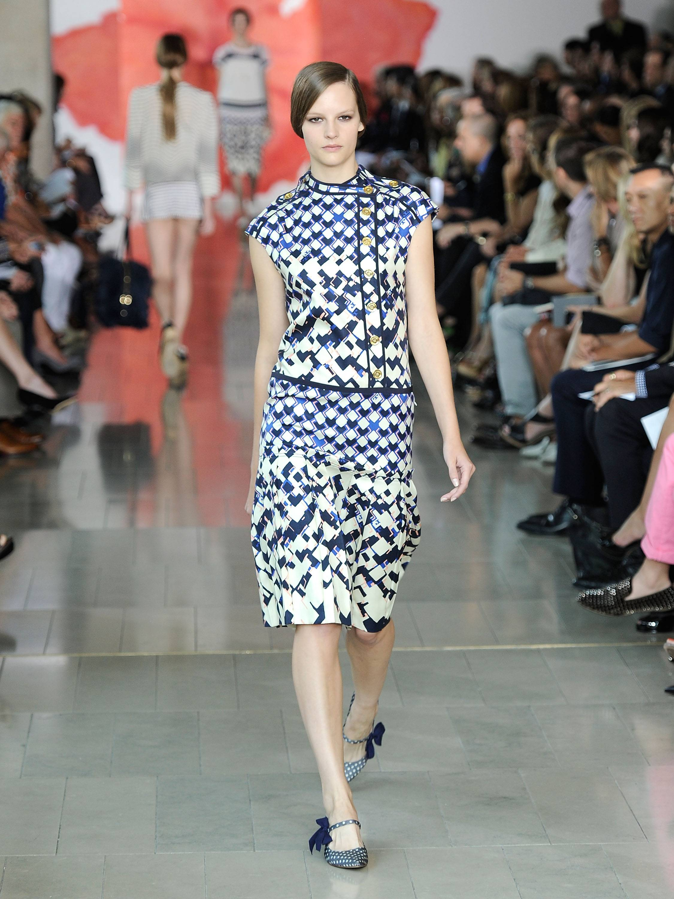 Tory Burch Runway Presentation 4, Mercedes Benz Fashion Week, s/s 2012