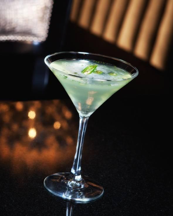 35 Steaks + Martinis (Spicy Serrano Martini) - credit Erik Kabik