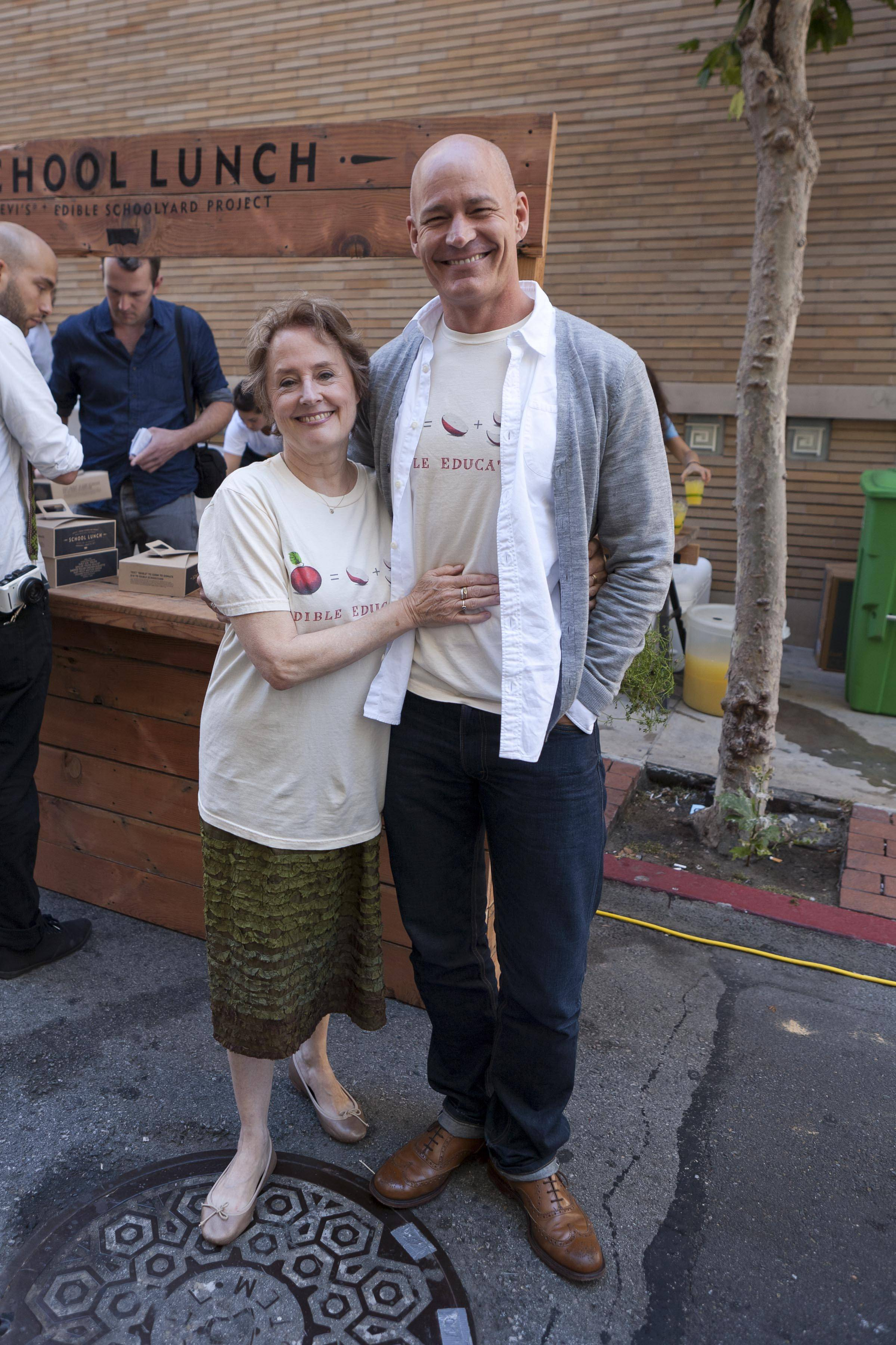 Alice Waters and Robert Hanson President, Global Levi's® Brand ii (1)