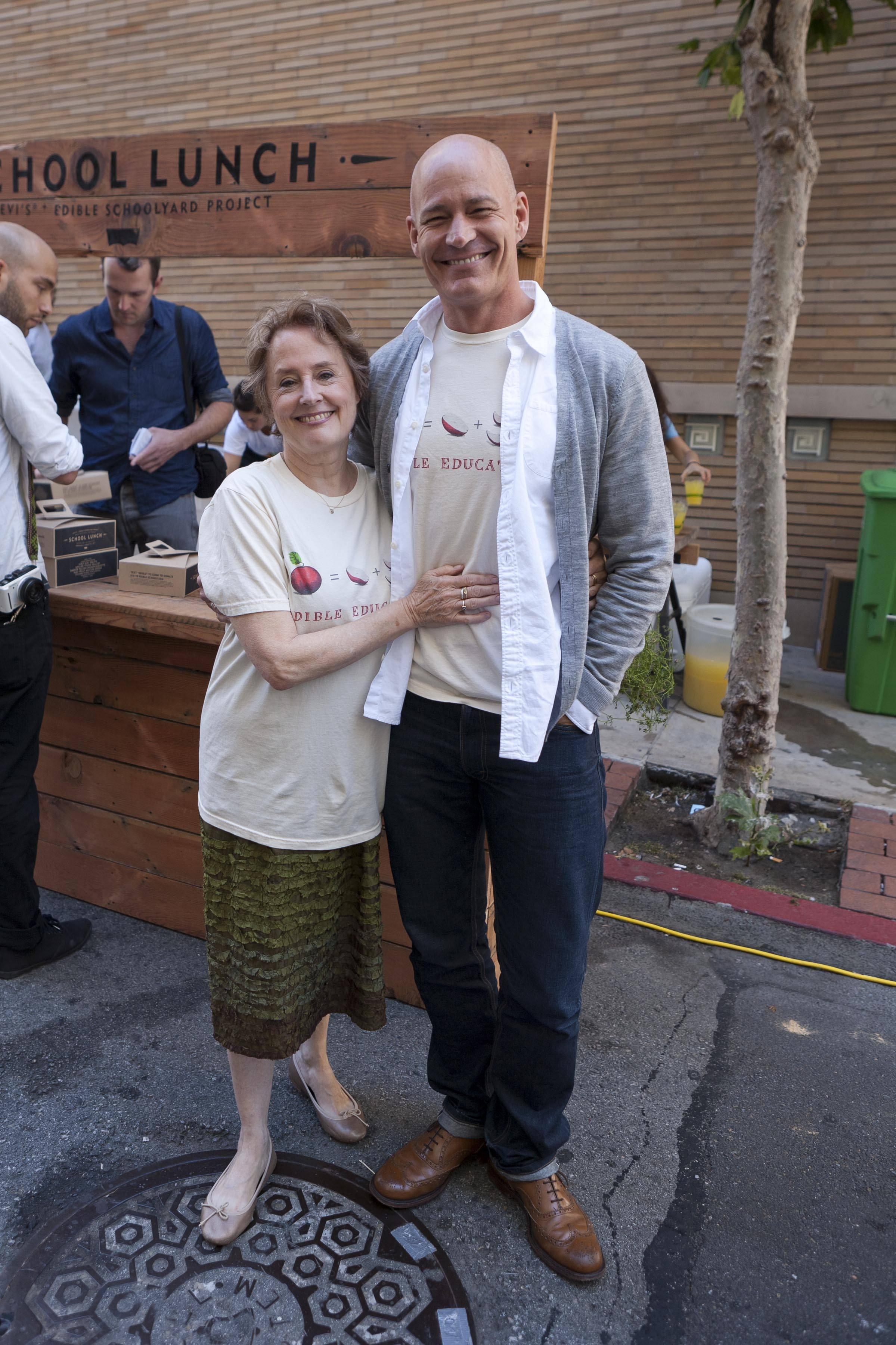 Alice Waters and Robert Hanson President, Global Levi's® Brand ii (1)