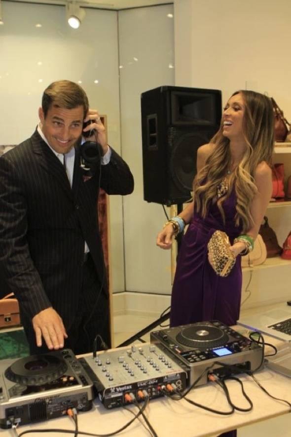Bill as DJ