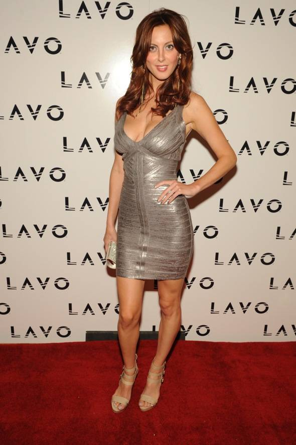 Actress, Eva Amurri, celebrates at LAVO