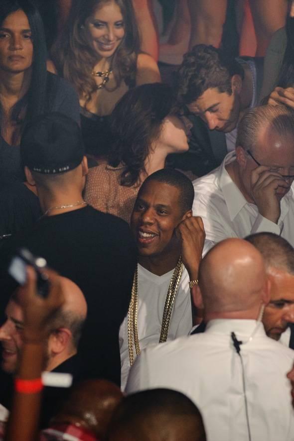 Hip Hop and business mogul, Jay Z celebrates at TAO