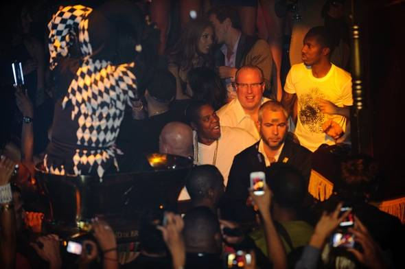 Hip Hop and business mogul, Jay Z celebrates at TAO