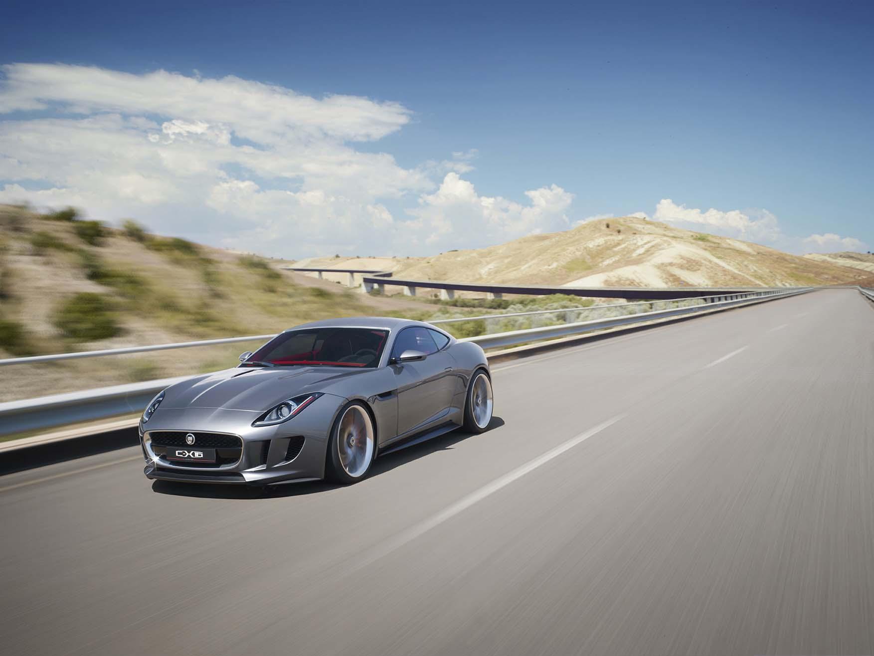 Jaguar C-X16 Production Concept....007