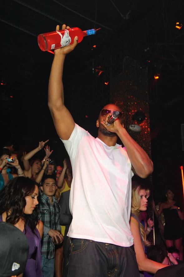 Jamie Foxx at TAO Nightclub