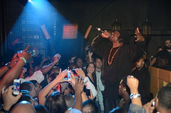 Hip Hop Legend, KRS One, performs at LAVO