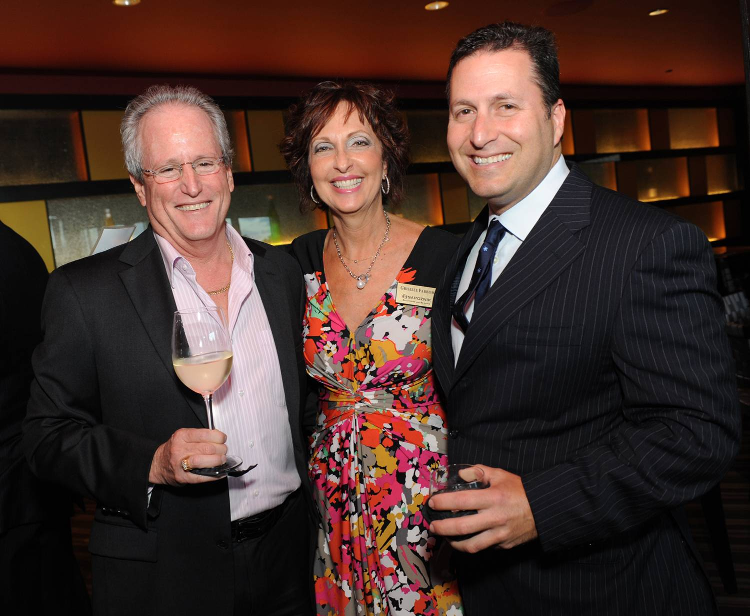 P3 - Gary and Griselle Farbish with Mark Schwartz, CEO of Corporate  Insurance Advisors (CIA)