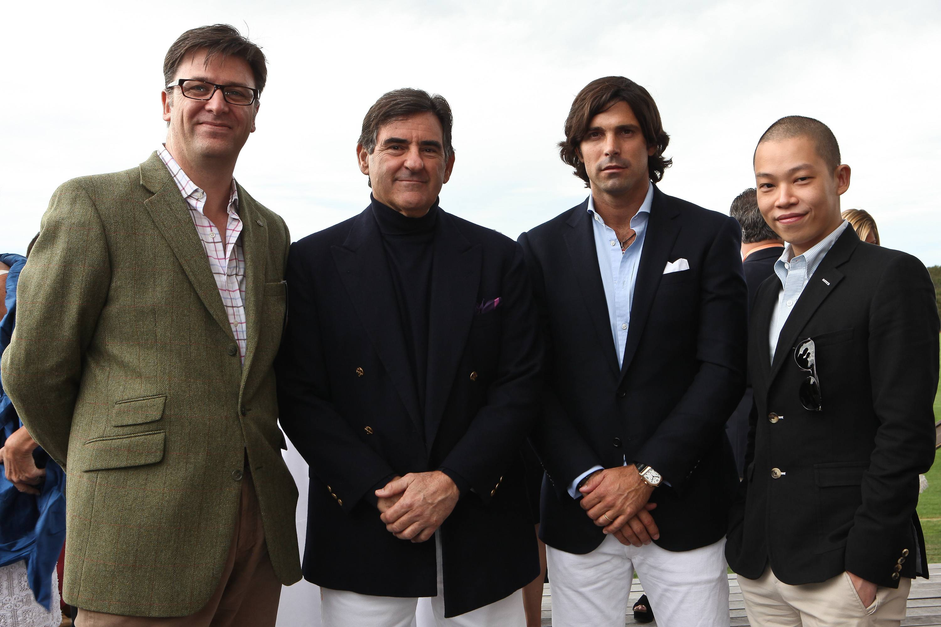 Paul James, Peter Brant, Nacho Figueras, Jason Wu
