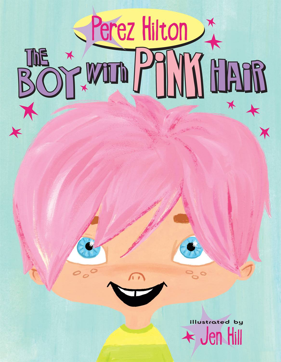 Pink Hair final cover front hi res