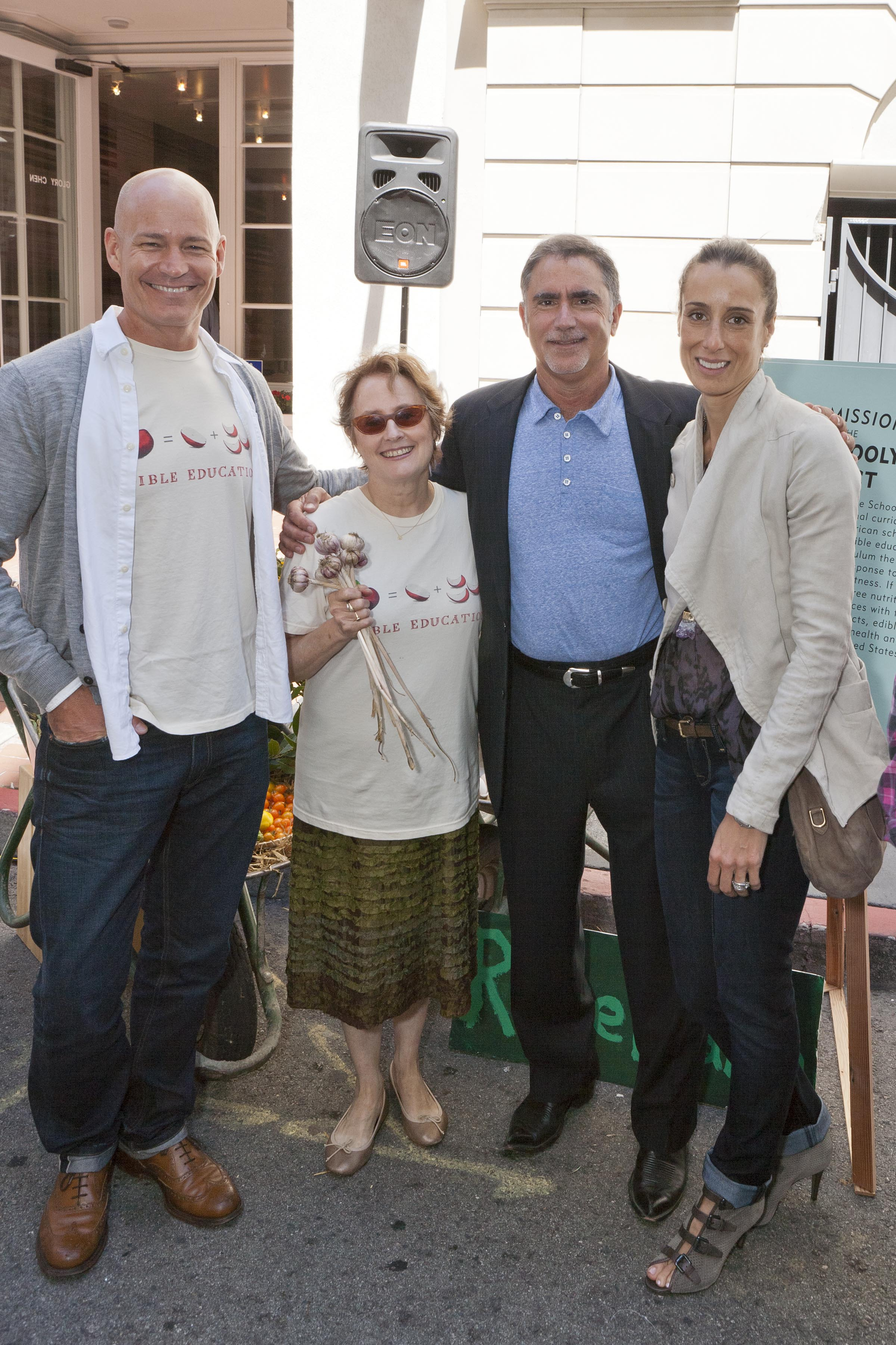Robert Hanson President, Global Levi's® Brand, Alice Waters, Phil and Christine Bronstein (1)