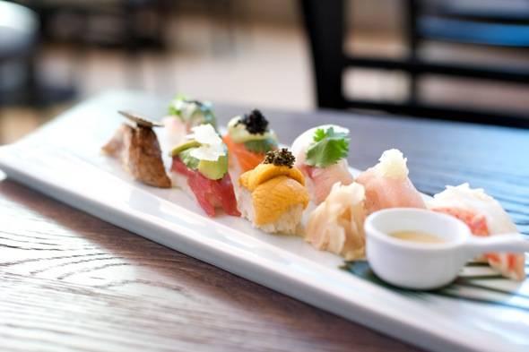 Roku Signature Style Sushi