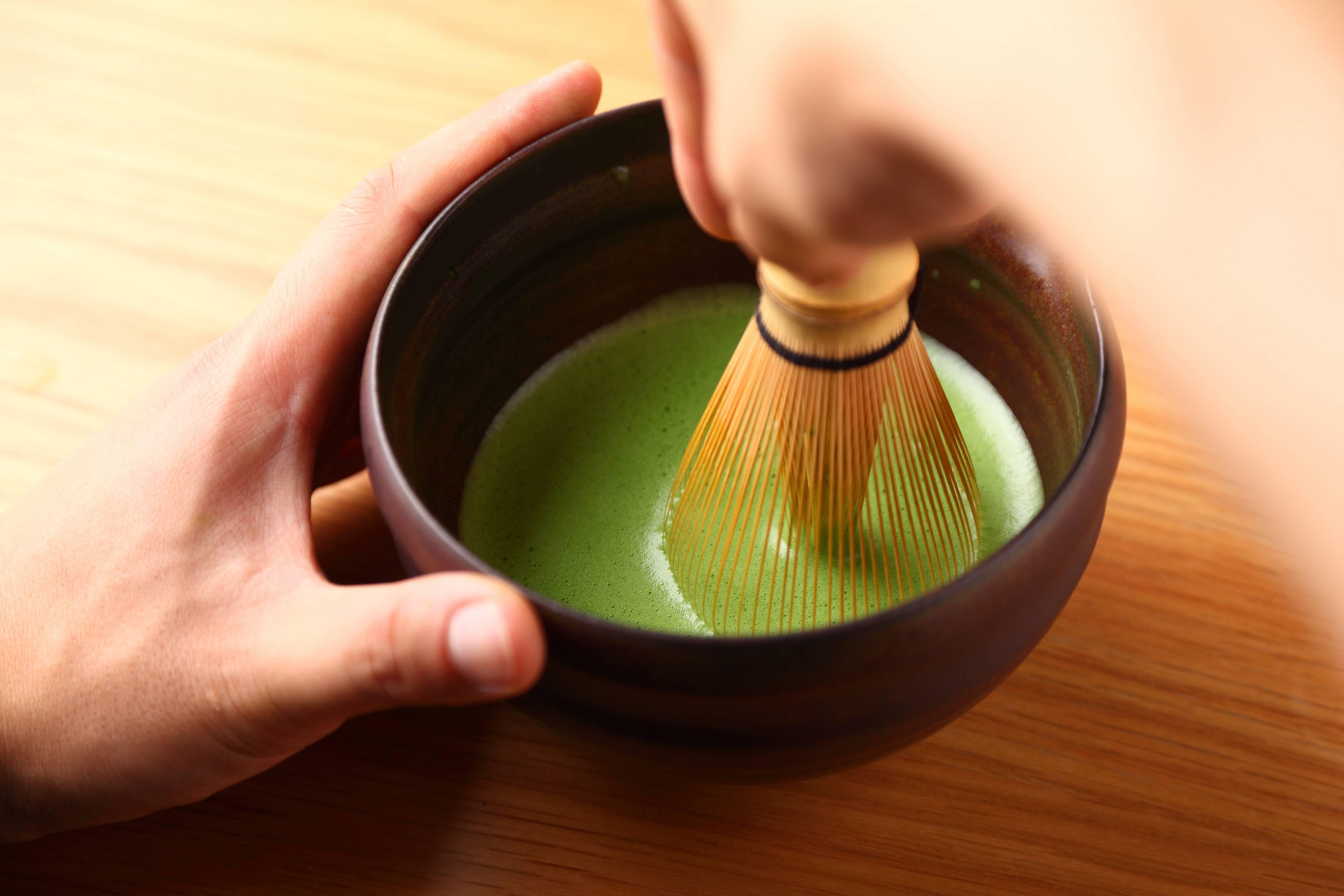 So – Matcha Tea making